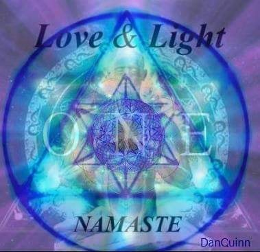love and light we are one
