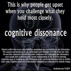 cognitive dssonance